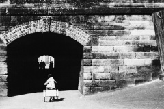 Tunnel to Walton Hall Park, 1957