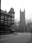 The Brown Cow & Walton Church, 1967